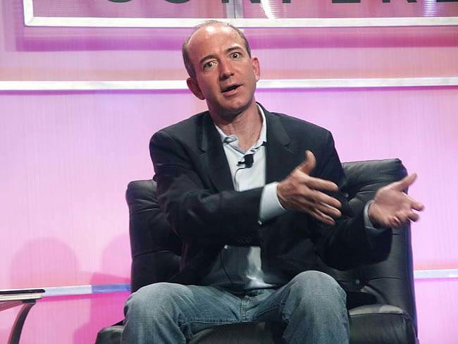 Jeff Bezos early days as entrepreneur